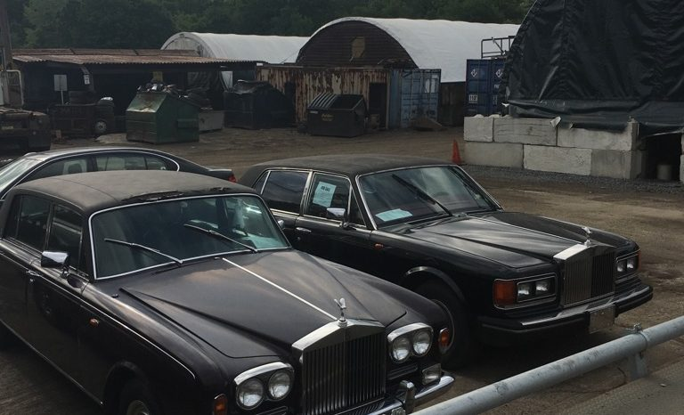 Pair of Rolls Royce's '85 Silver Spur & '73 Silver Shadow full